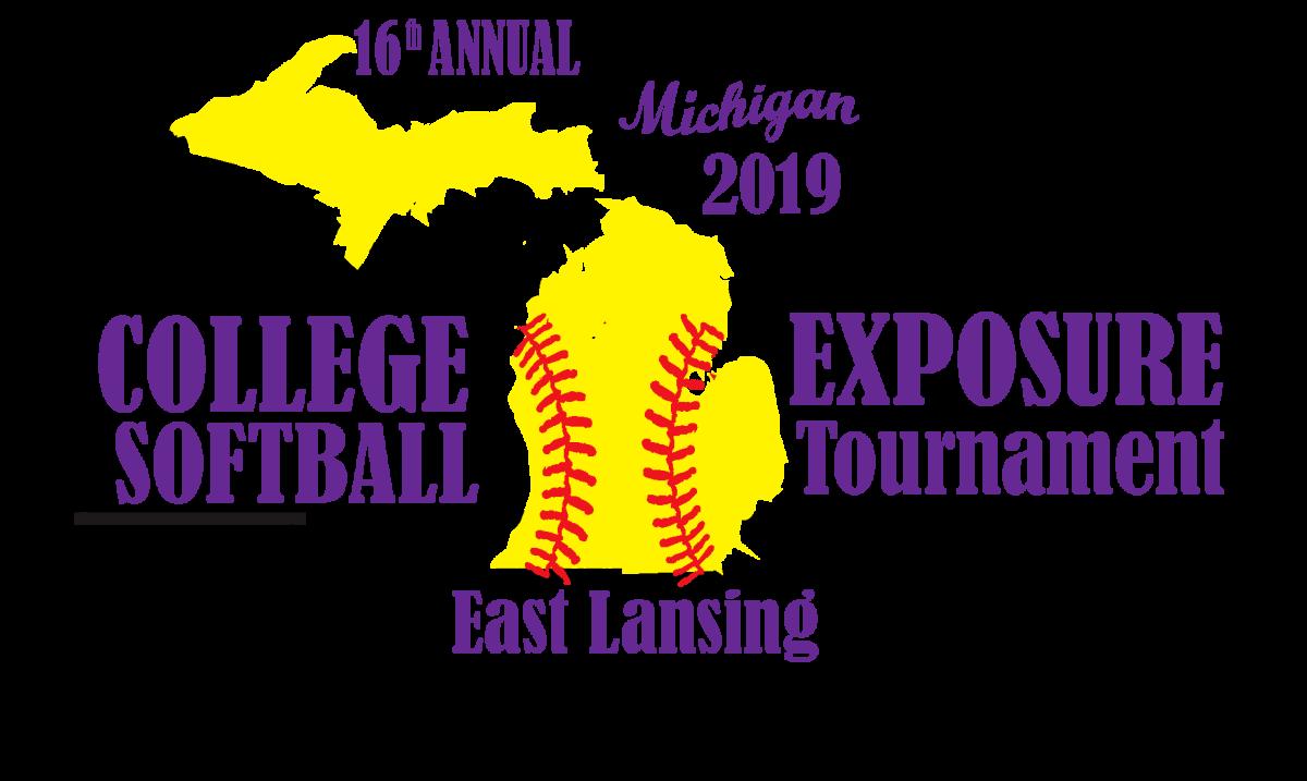 college exposure softball tournament 2019 logo