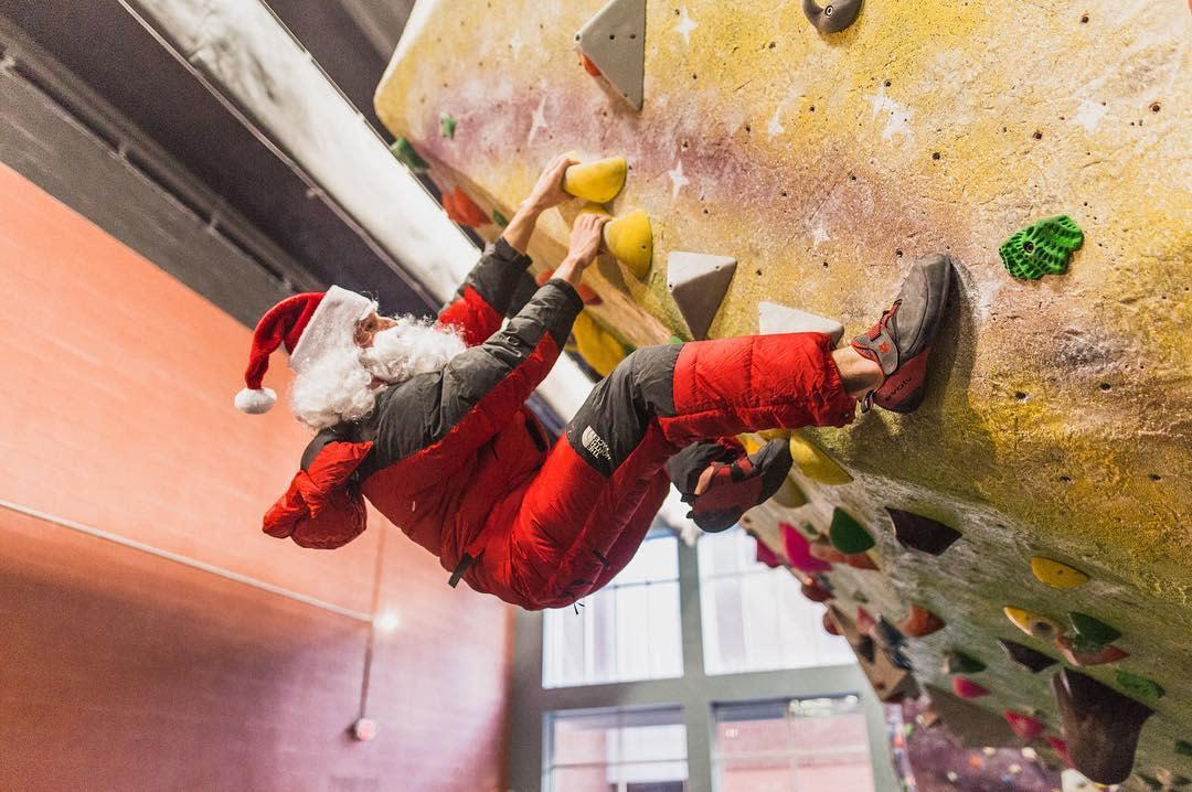 High Point Climbing_Santa