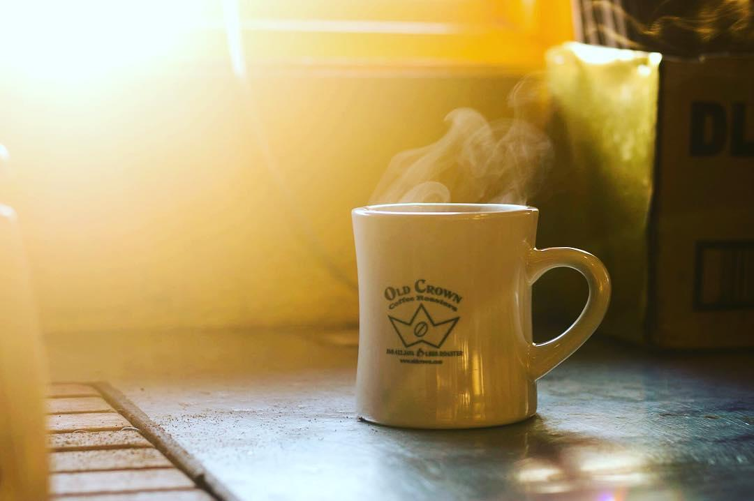 old crown drip coffee