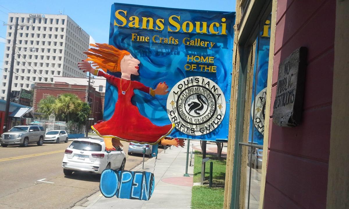 San Souci Fine Arts Gallery in Lafayette