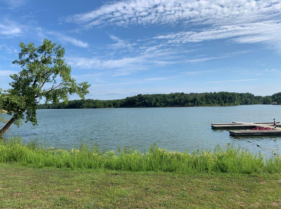 View of the water at Deer Creek
