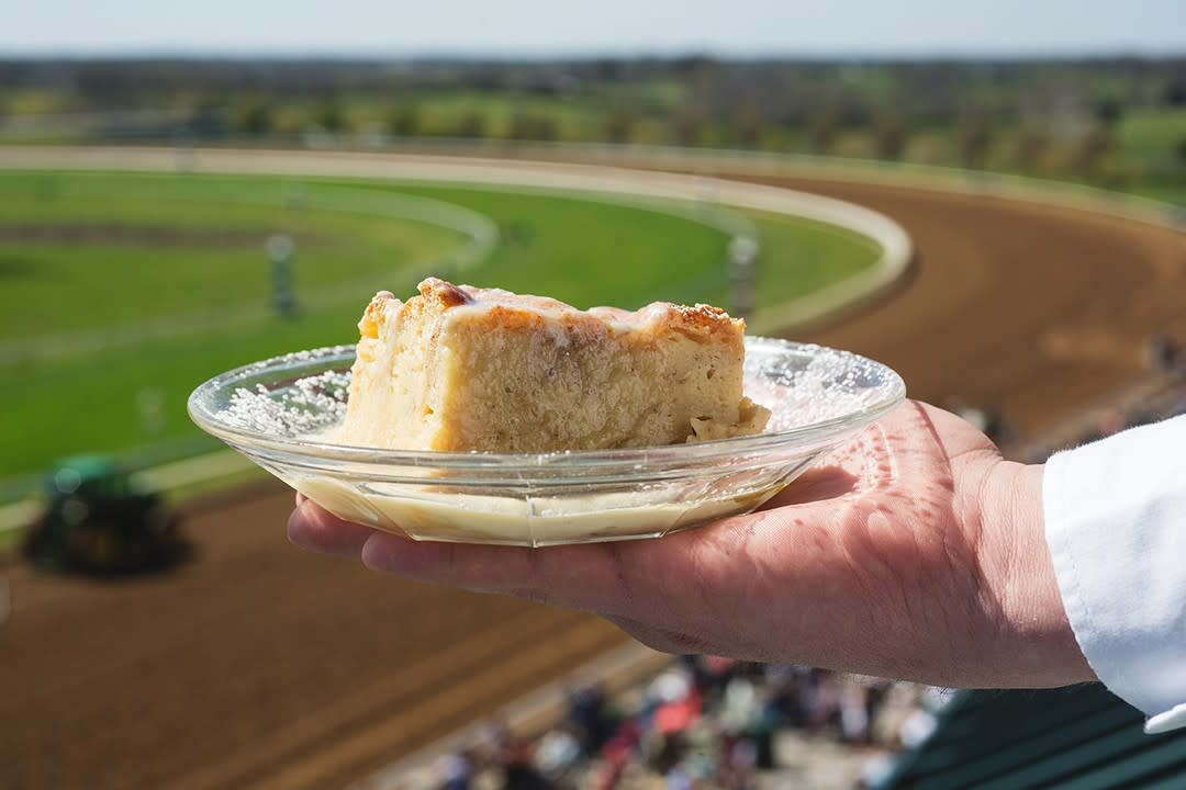 Bread Pudding at Racetrack
