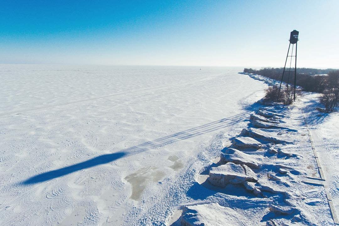 Winnipeg Beach Winter