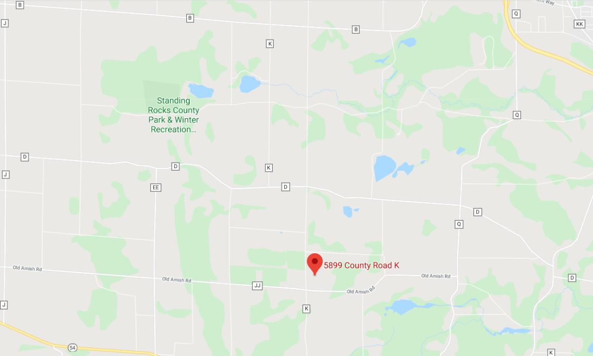 Rock Ridge Vineyard Map | Stevens Point Area