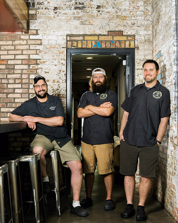 Junk Ditch Brewing Company Owners - Photo by Dustin McKibben for Fort Wayne Magazine