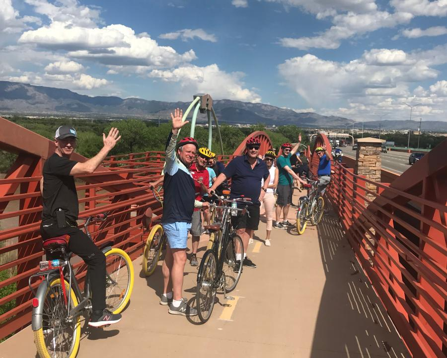 Biking on the Bosque Trail, Routes Bike Tours