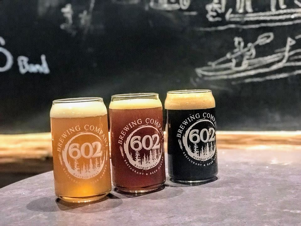 602 Brewing Company Beer Glasses