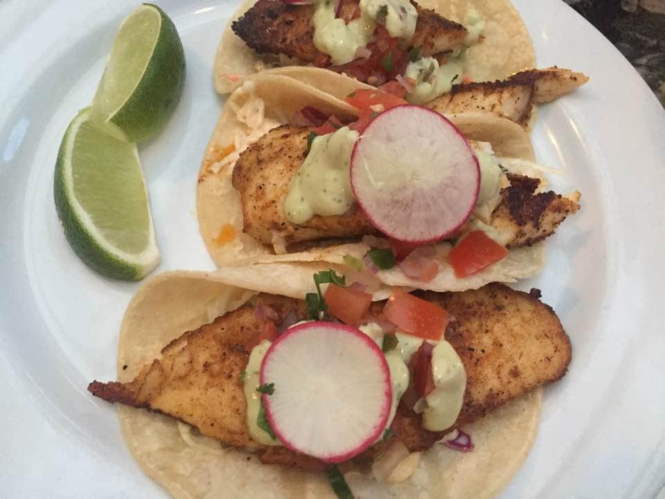 Karla's Restaurant fish tacos