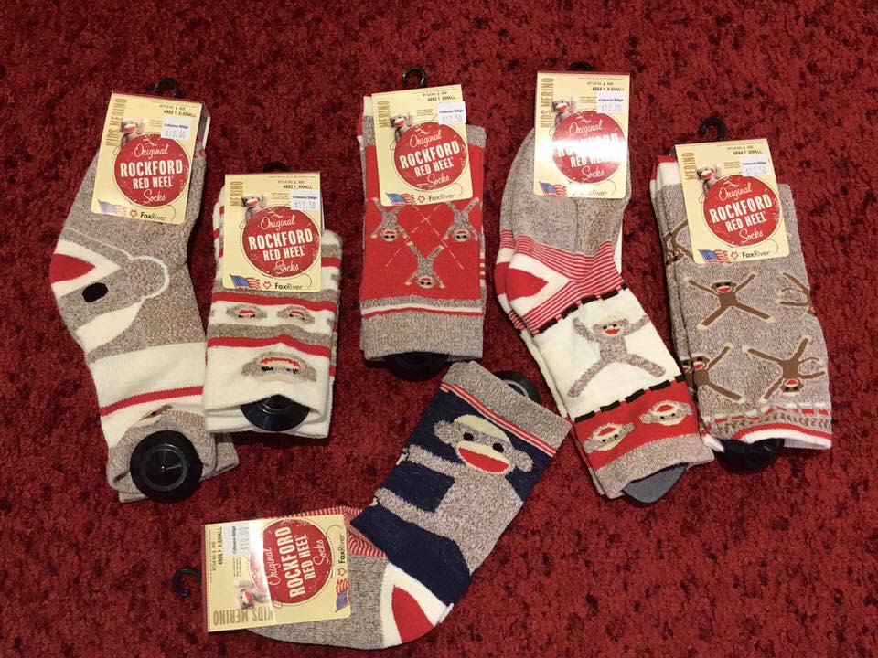 crimson ridge socks
