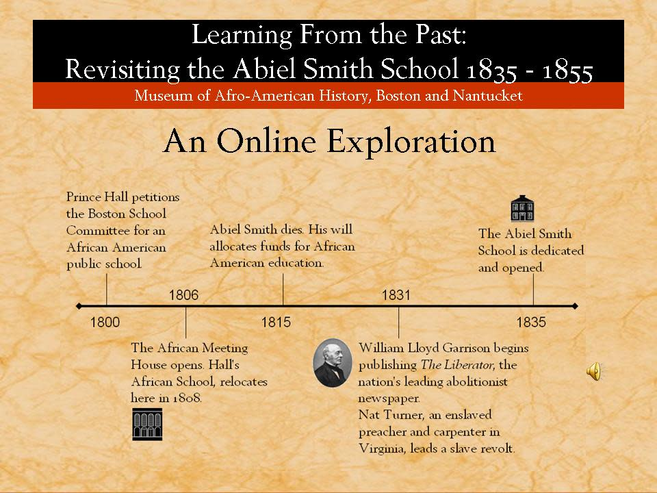 The Museum of African American History: An Online Exploration