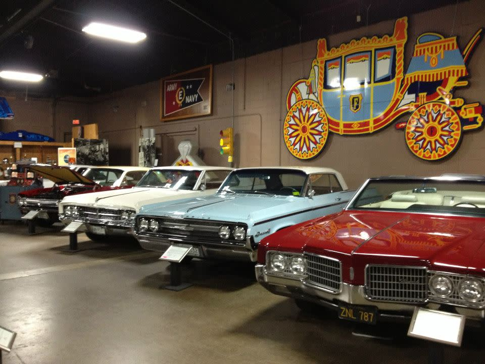 R.E.Olds Transportation Museum Cars