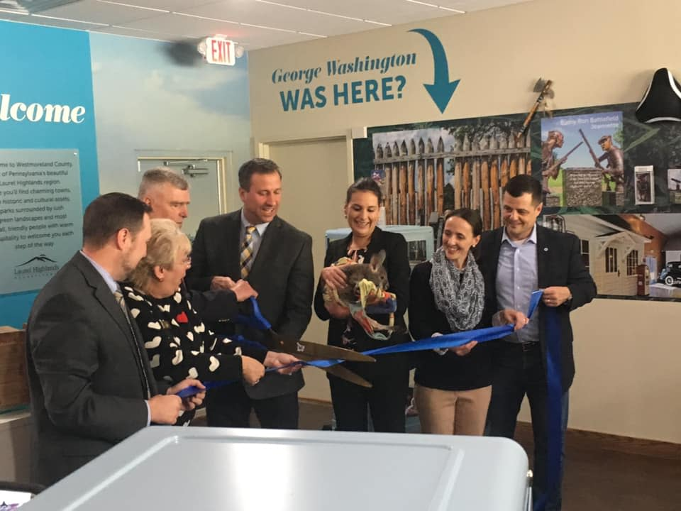 Ribbon Cutting for Westmoreland County Visitor Information Center