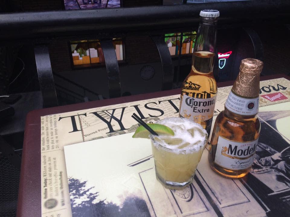 Drinks at Twist Bar