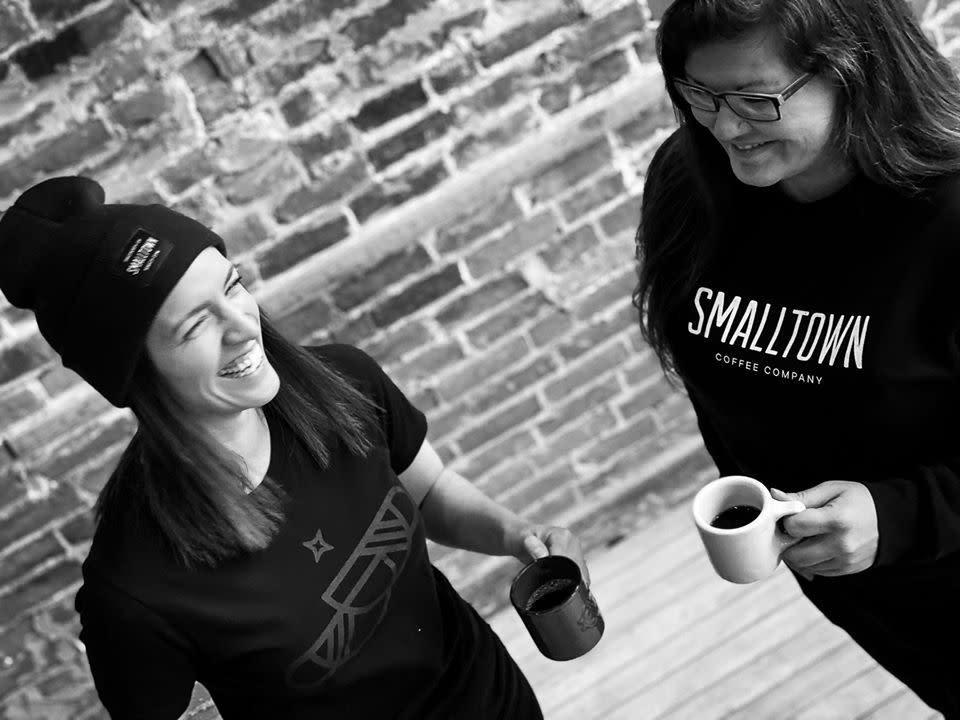 Smalltown Coffee merchandise