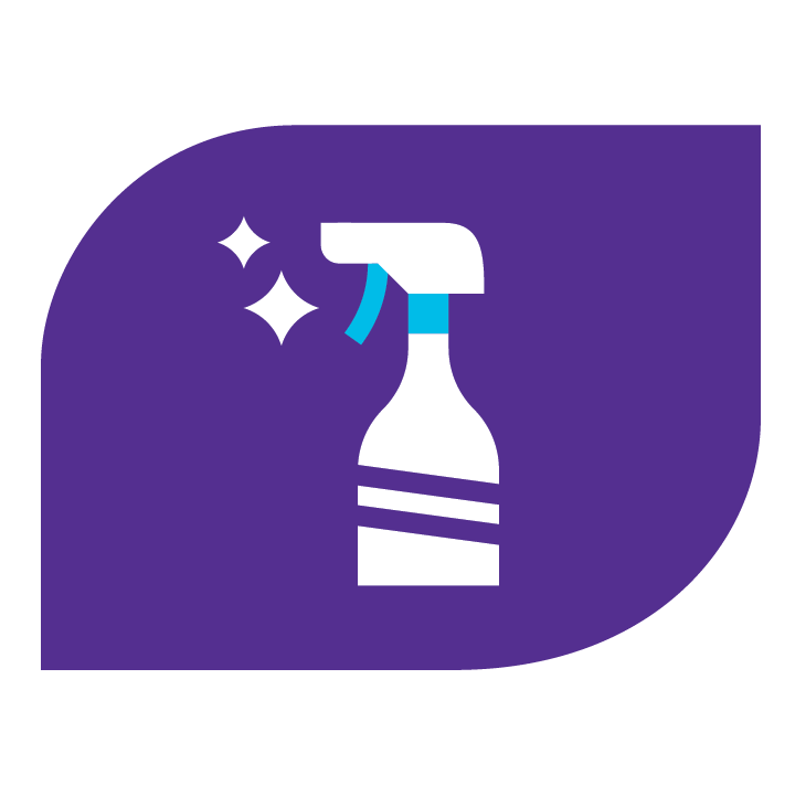 Enhanced Cleaning Icon