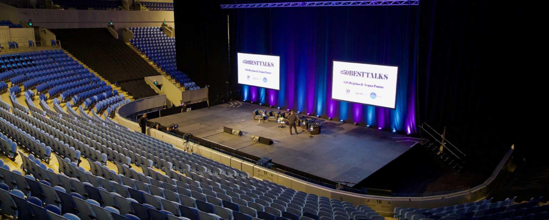 Auditorium at Margaret Court Arena