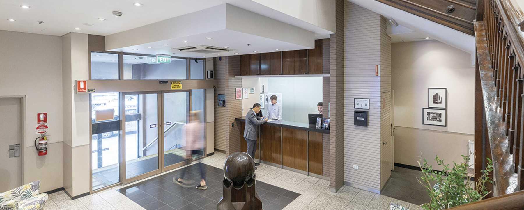 Lobby - Hotel Entrance