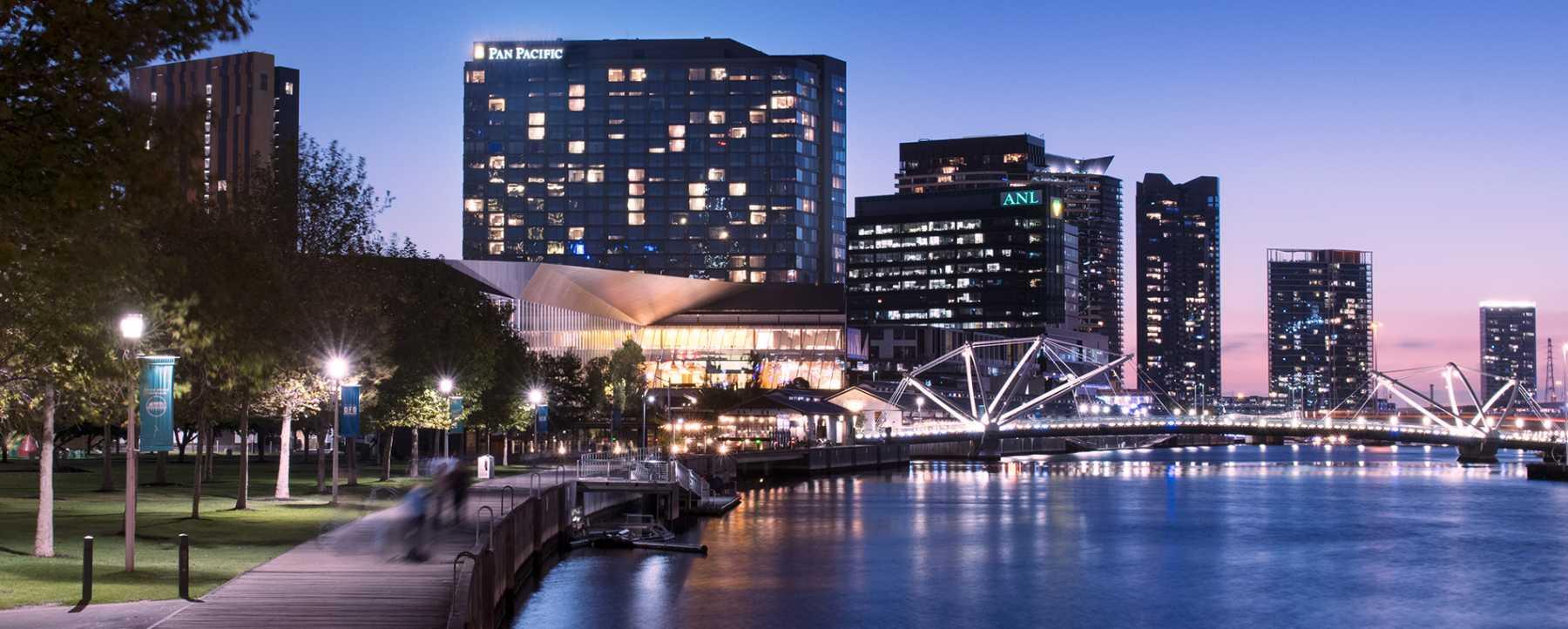 Map Australia 4371.Pan Pacific Melbourne