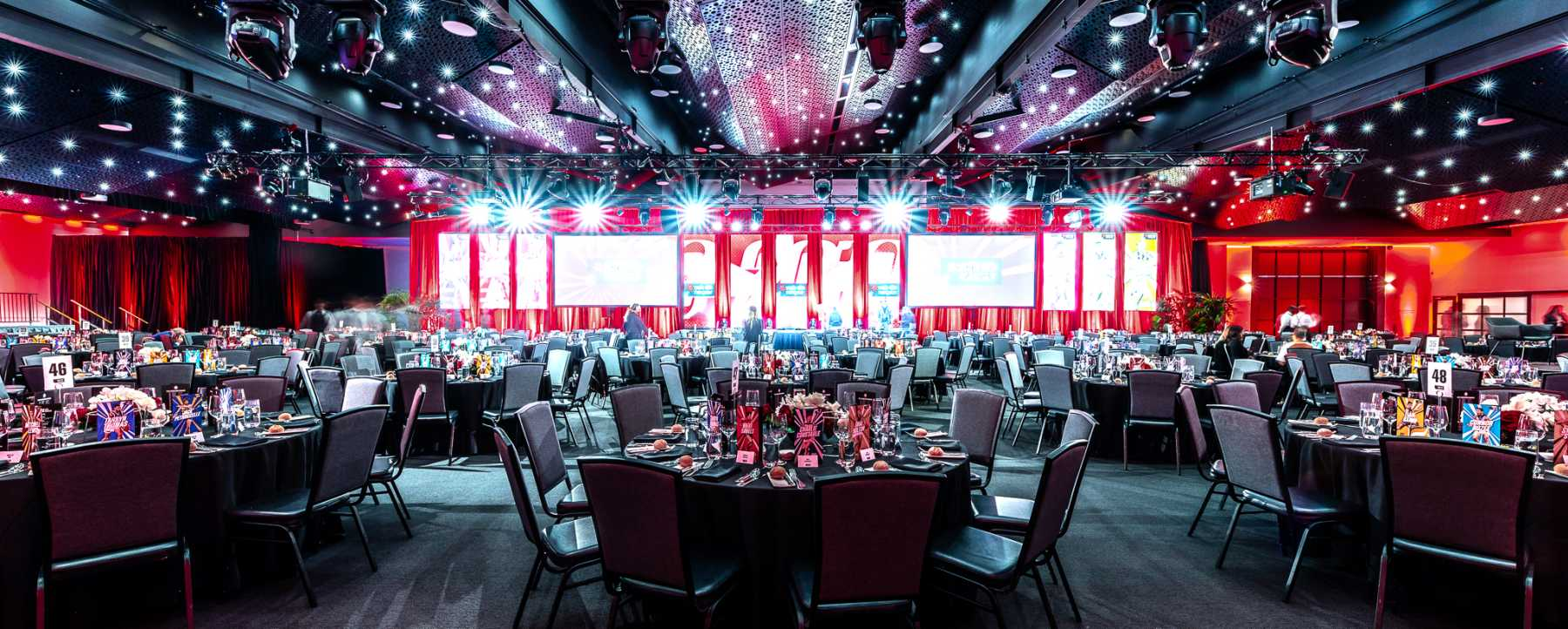 NAB Rising Star Awards - room theming