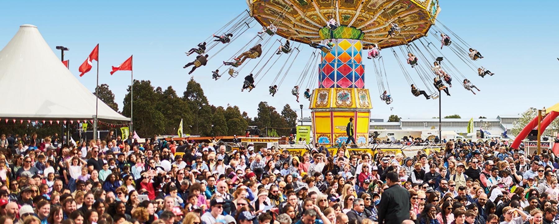 Royal Melbourne Show crowds