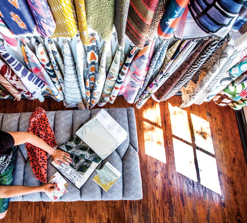 Textiles at Supply Showroom