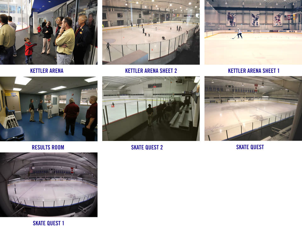 2015 World Police & Fire Games Site Inspection: Ice Hockey Venues Image Gallery