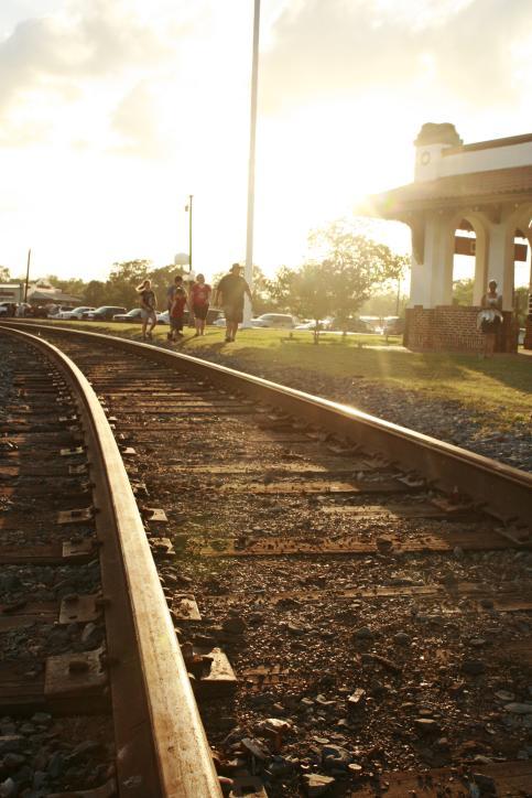 Railroad Tracks at Railroad Days