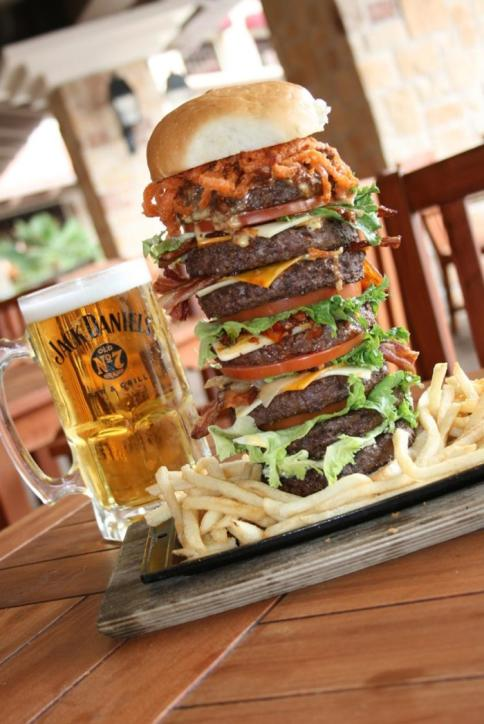 Jack Daniel's Bar & Grill Burger | Lake Charles, LA