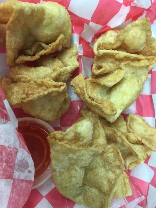 "Hi-Licious Crab Rangoons won ""Best Crab Dish"" at the 2016 Arts & Crabs Festival."
