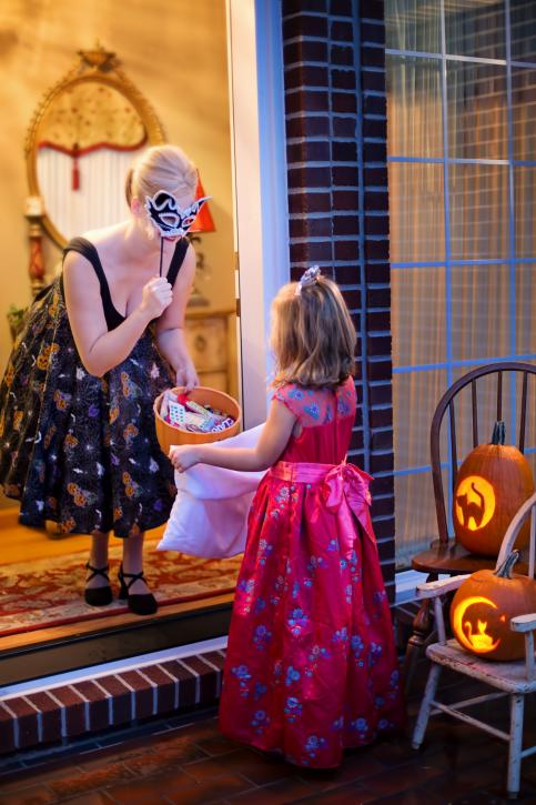 Trick or Treating in Lake Charles, Louisiana