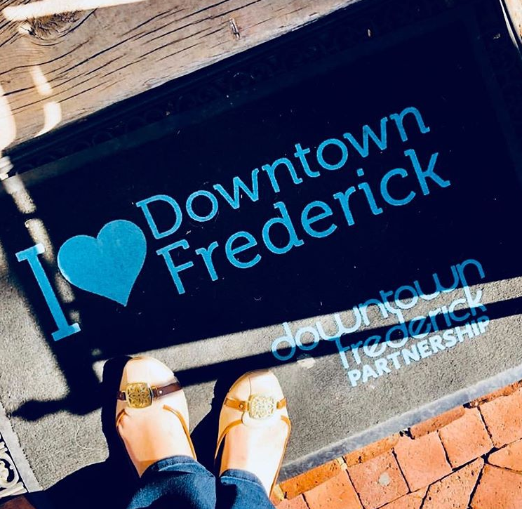 Downtown Frederick Partnership Door Mat