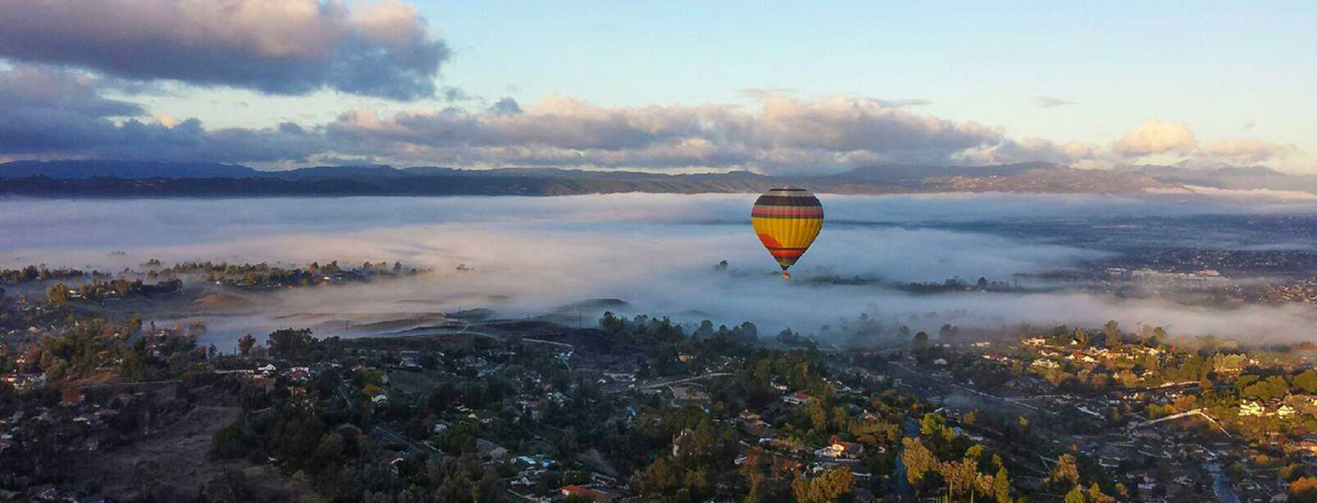Panorama- A Balloon Adventure By California Dreamin