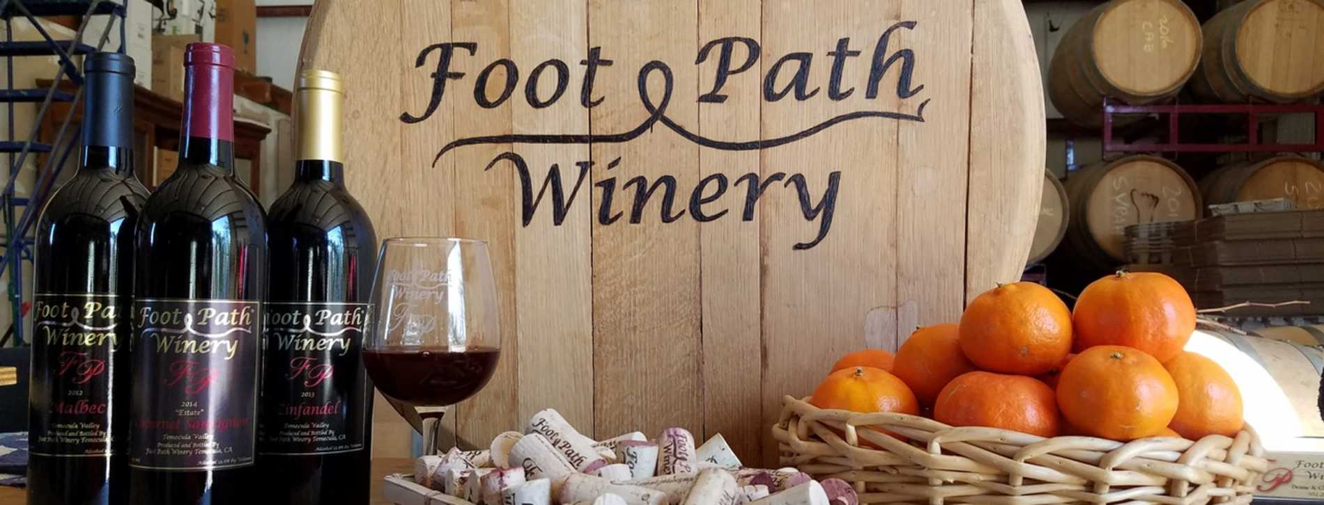 Foot Path Winery - Temecula