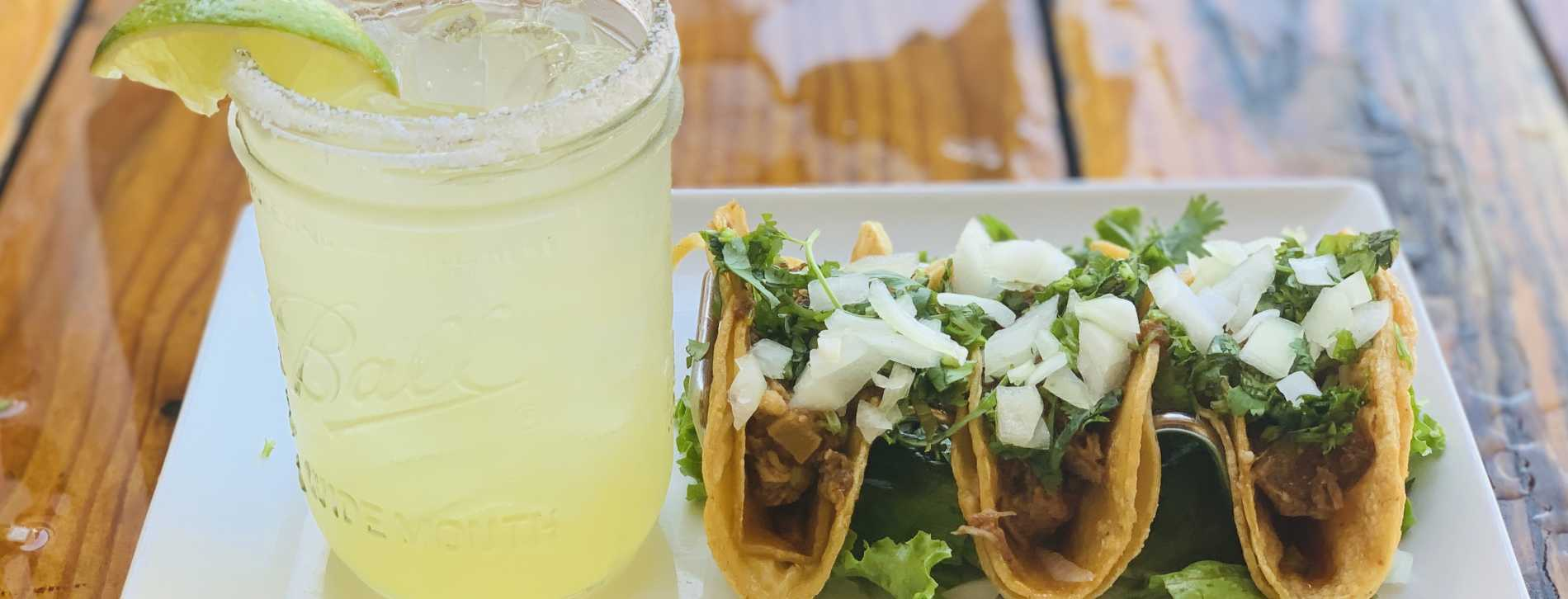 Tuesday Taco & Margarita $10 Special