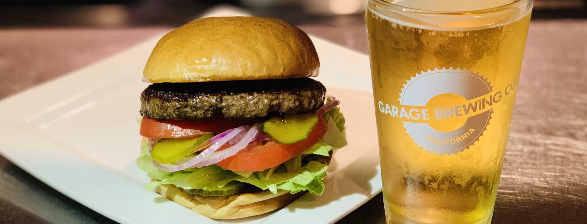 Monday Special Burger & Beer $10