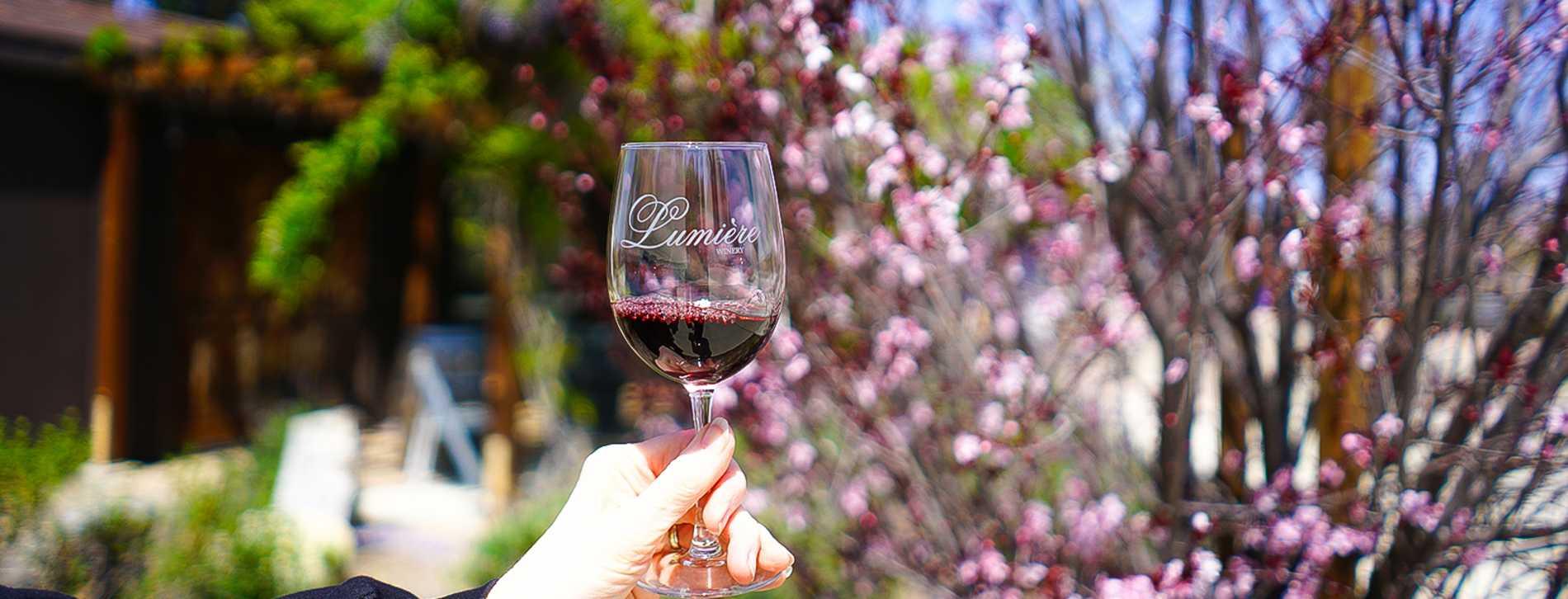 Lumiere Winery Wine Glass
