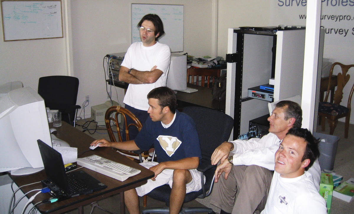 The founders of Qualtrics in 2005