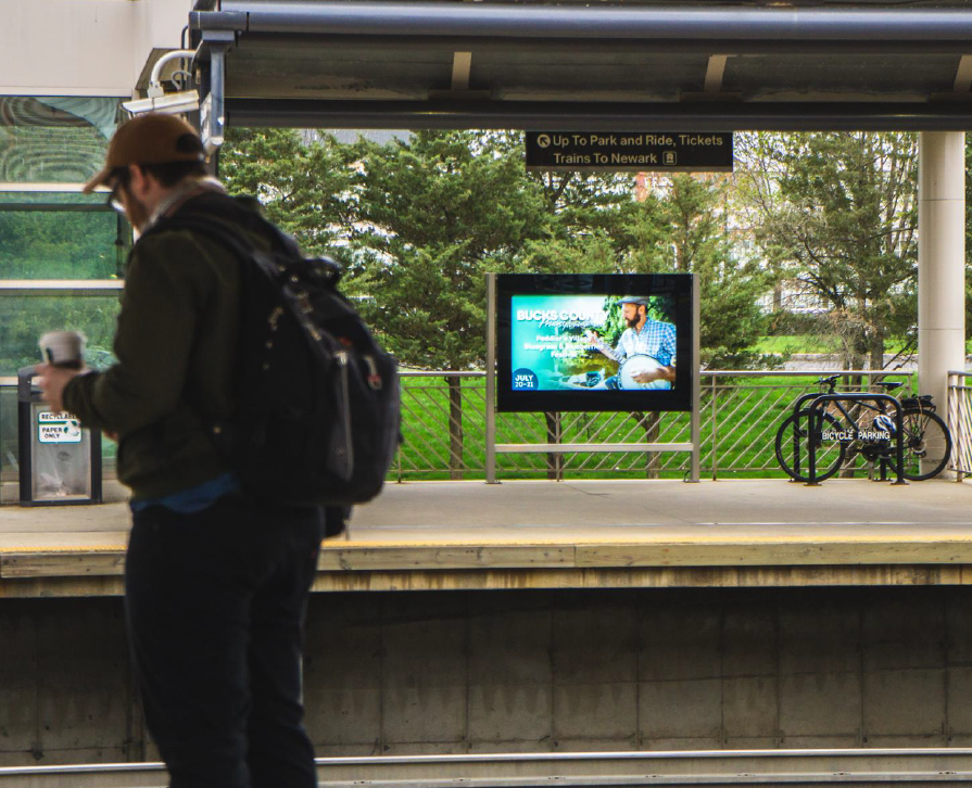 NJ Transit ad (spring)