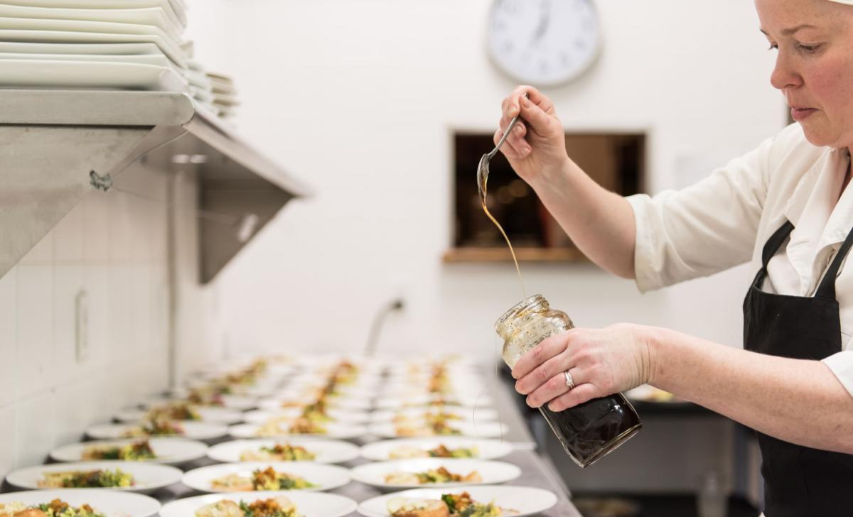 Monica's Restaurant: Chef Monica