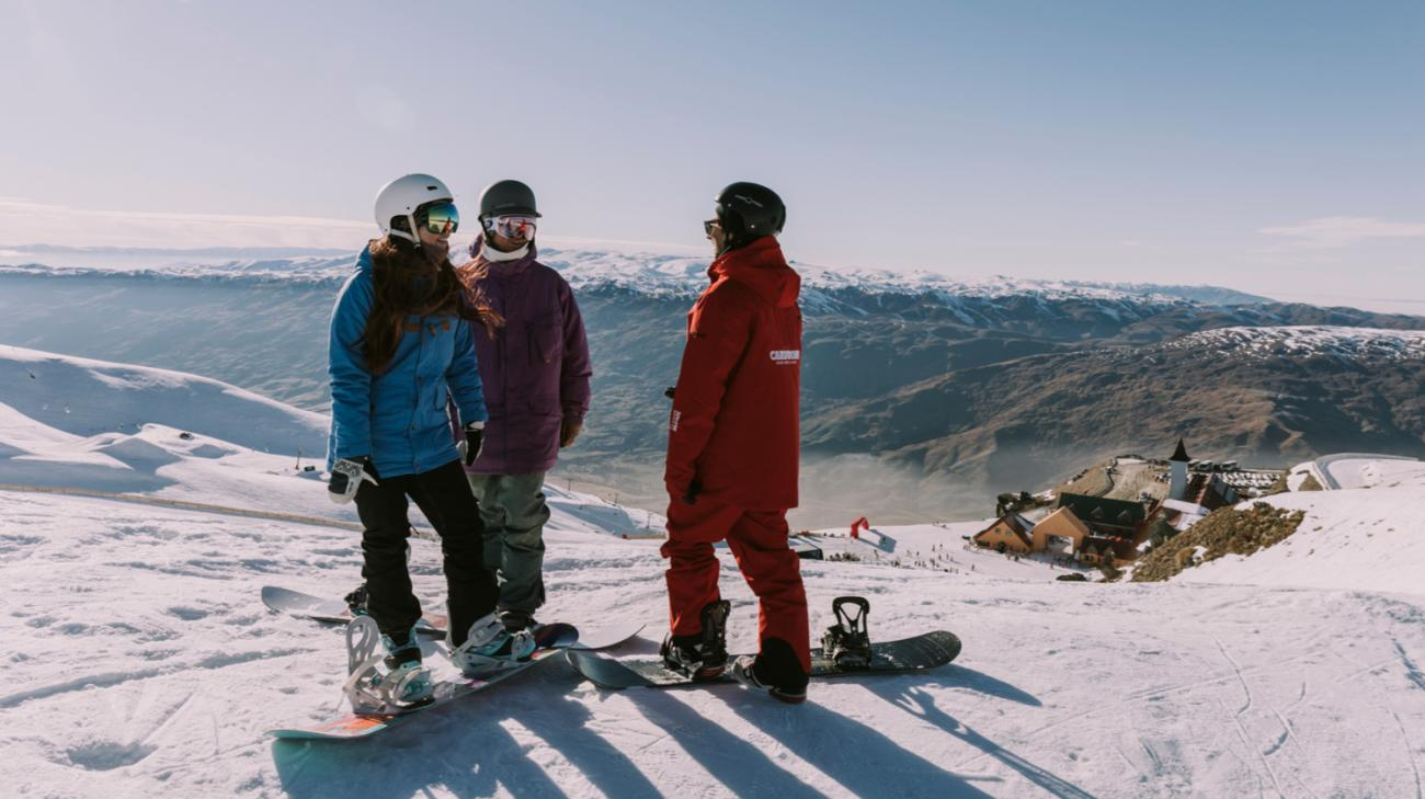 Lessons at Cardrona