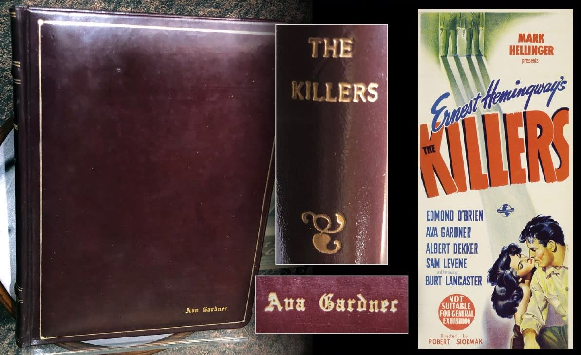 The Killers leather bound script