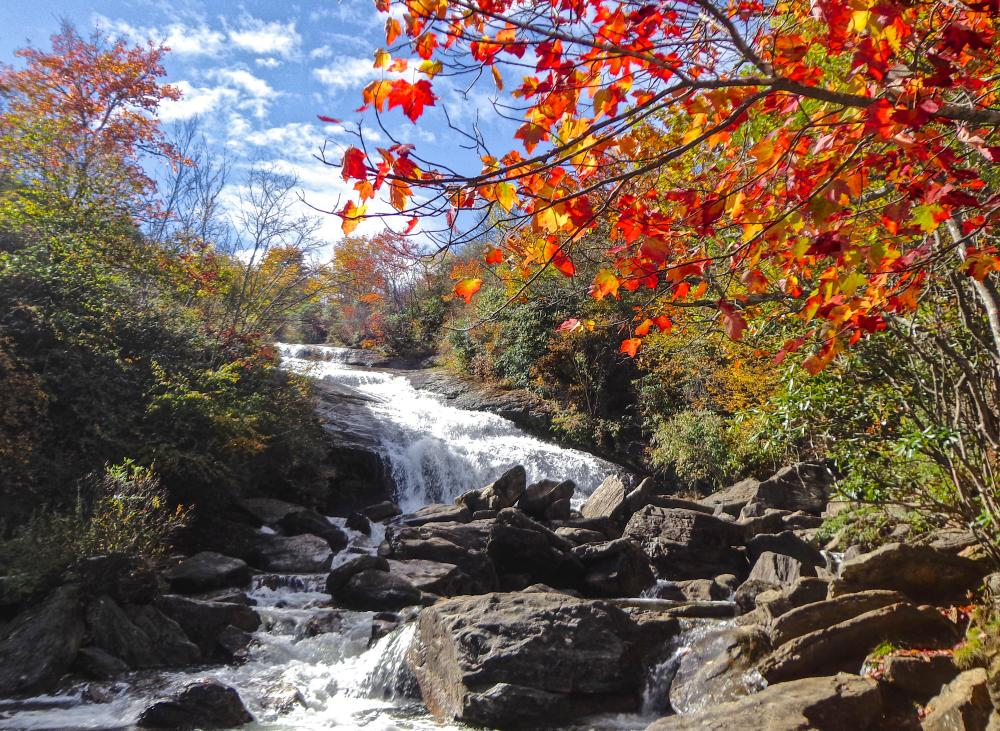 Lower Falls Graveyard Fields Fall 2015