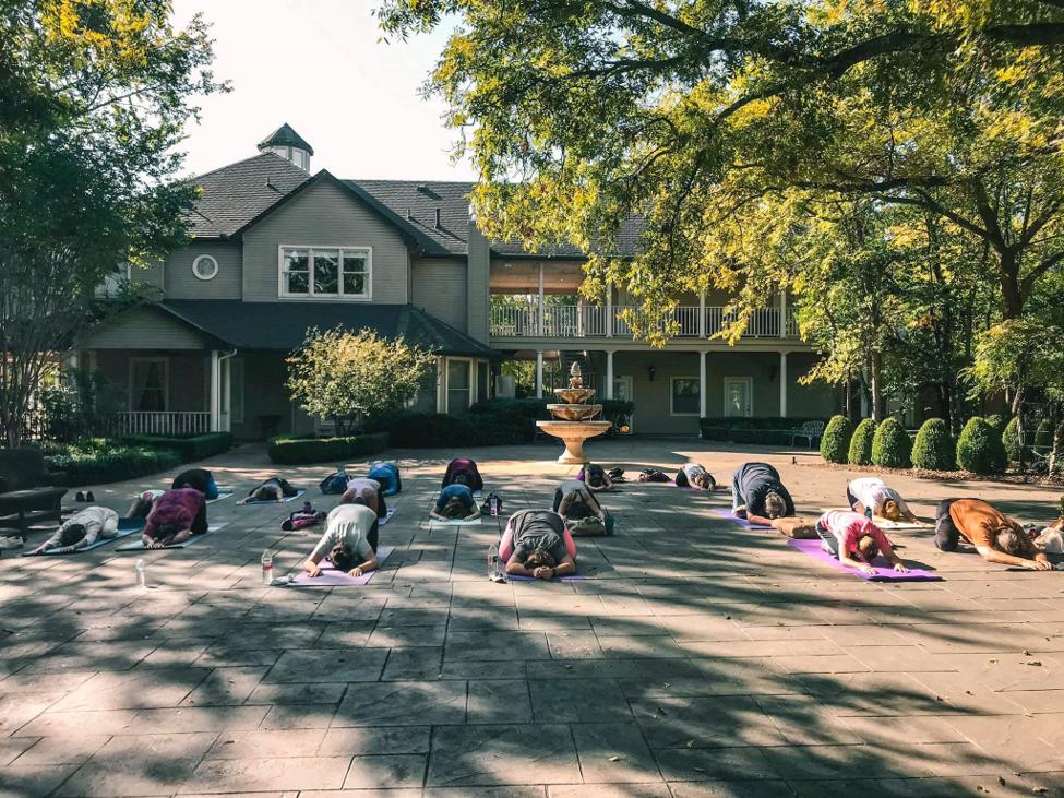 Sanford House yoga