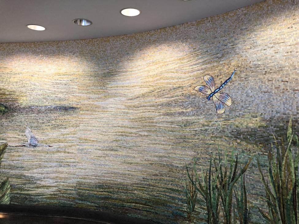 Houston Bayou Mosaic at IAH