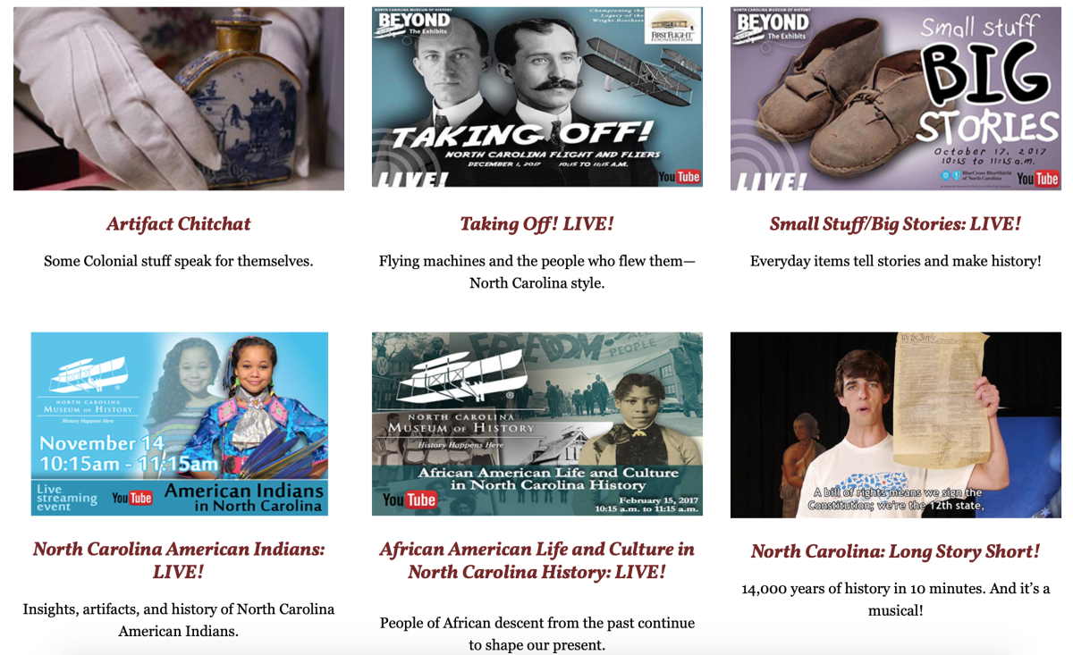 North Carolina Museum of History Online
