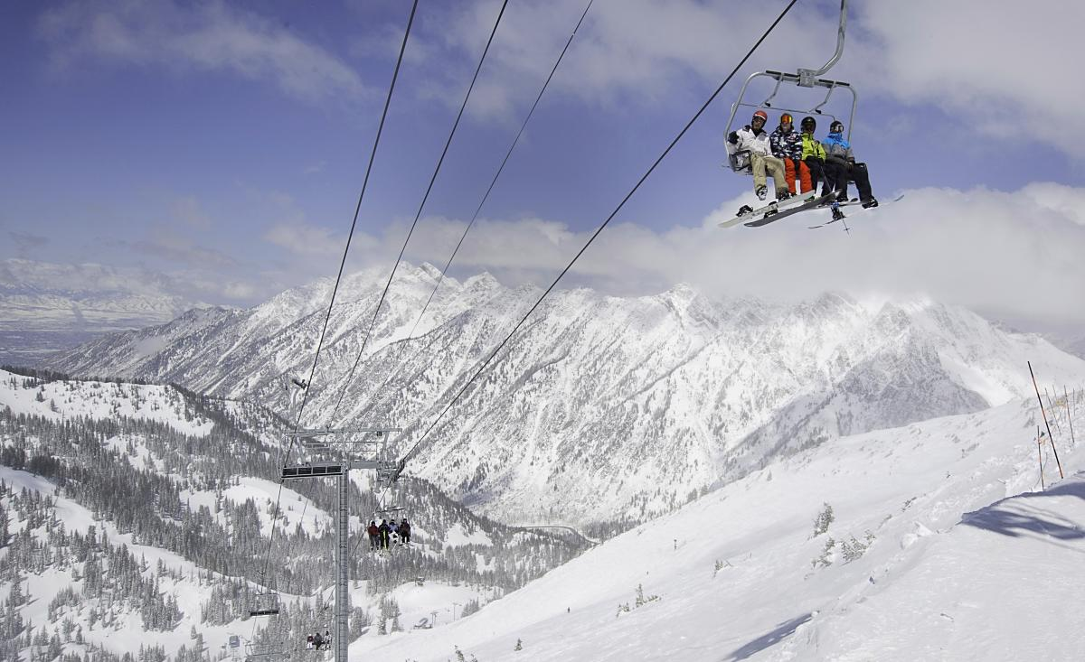 Come Ride the Little Cloud Chairlift at Snowbird