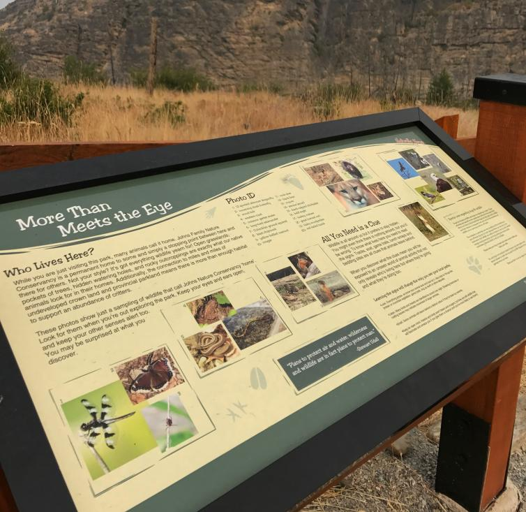 Interpretive Signs at John's Family Park