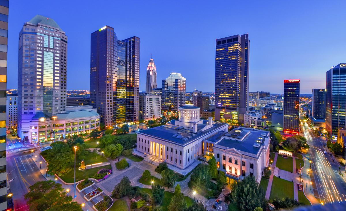 Statehouse skyline
