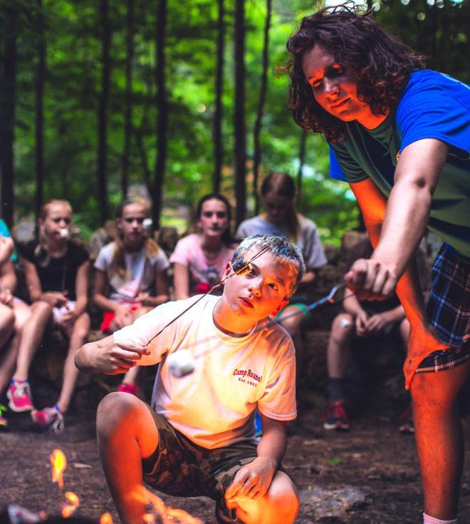 Campfire S'Mores - Blue Ridge Mountains