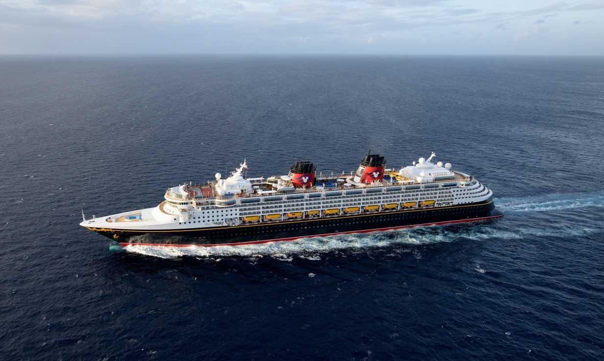 Disney Wonder Exterior